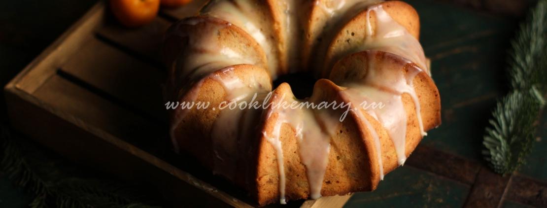 фото и рецепт рождественского кекса с сухофруктами и орехами