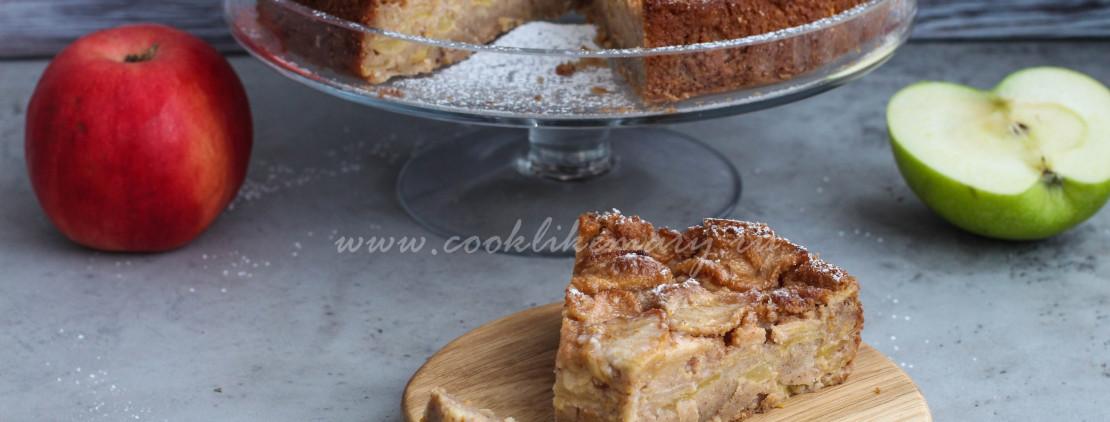 Рецепт нежного яблочного пирога