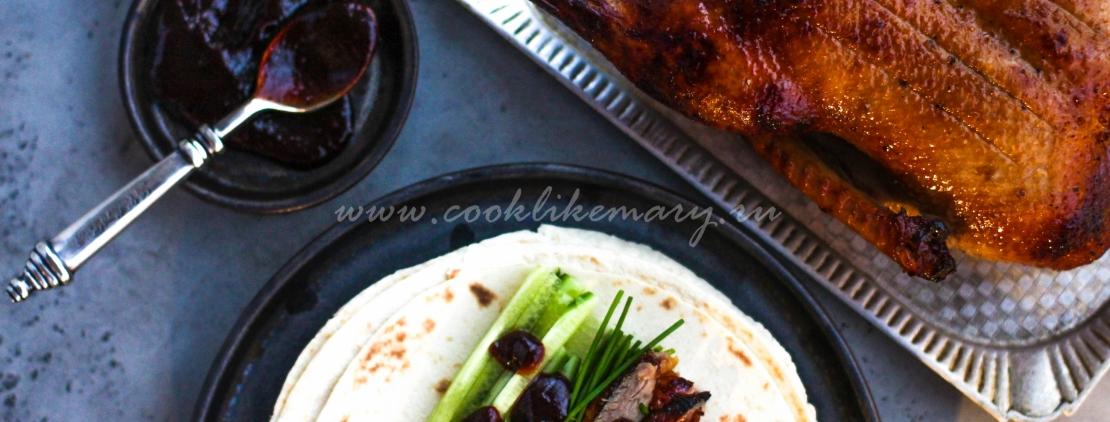 Рецепт утки по-пекински в духовке в домашних условиях