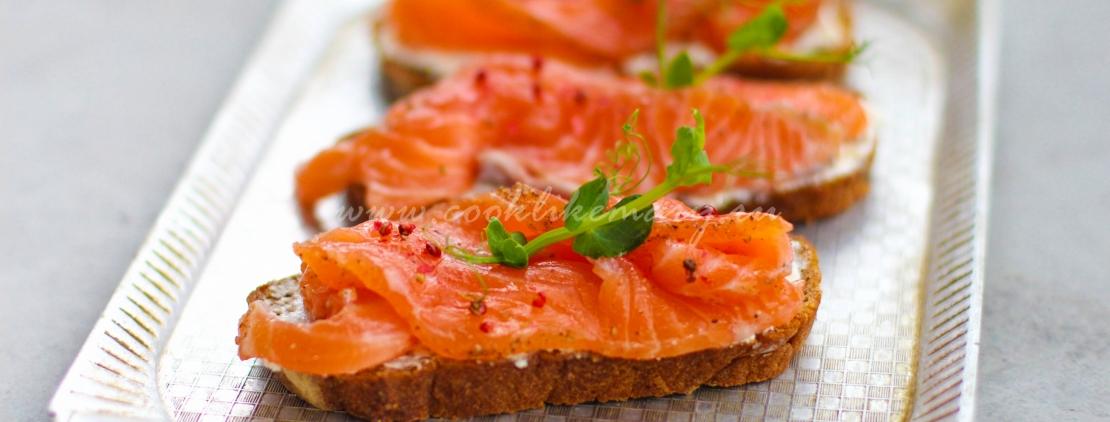 Рецепт слабосоленой красной рыбы