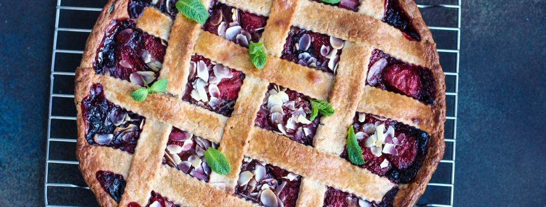 Рецепт ягодного открытого пирога