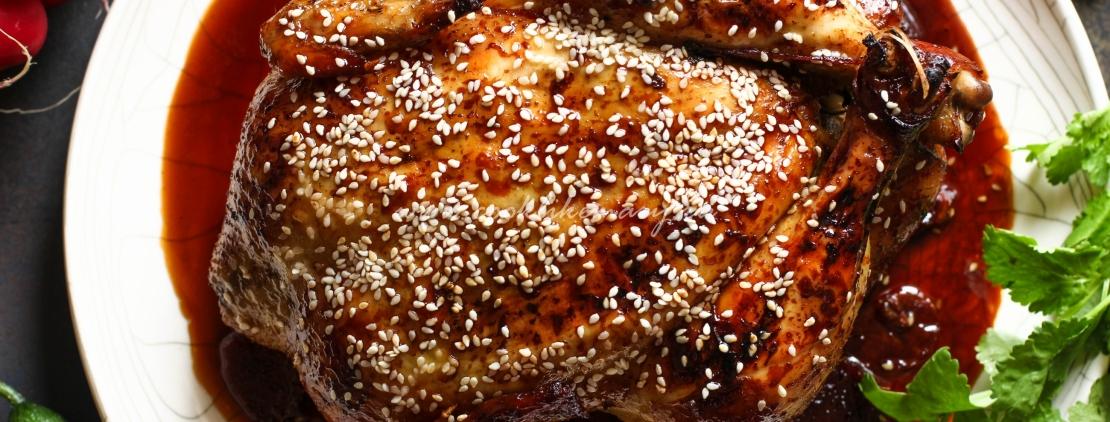 Курица в азиатском стиле