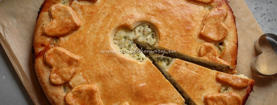 Пирог с судаком