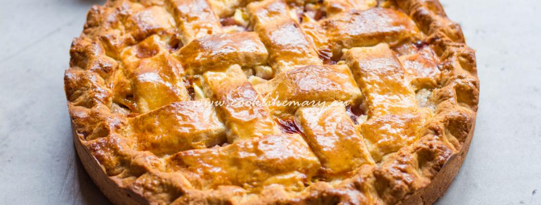 Линцский торт (пирог с джемом)