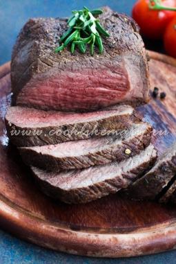 Рецепт ростбифа из говядины в духовке
