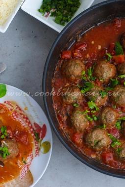 Итальянские митболы в томатном соусе