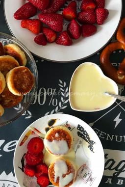 Рецепт сырников с кокосовой стружкой