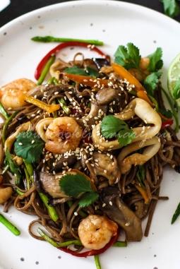 Рецепт лапши по-азиатски