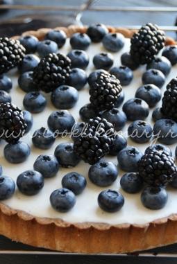 рецепты тартов с ягодами