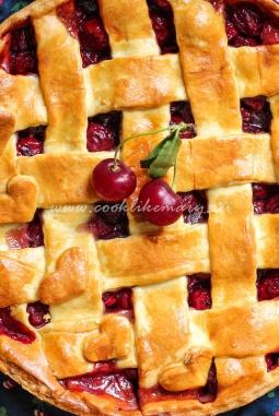 Пирог с вишней из твин пикс