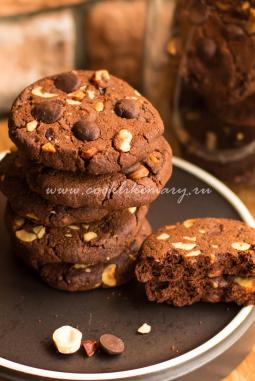 Печенье дабл-шоколад