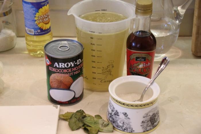 ингредиенты для том кха