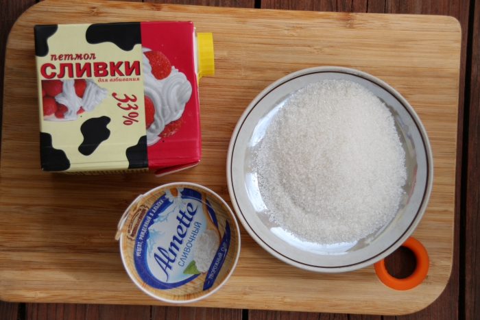 Творожный крем для тарталеток