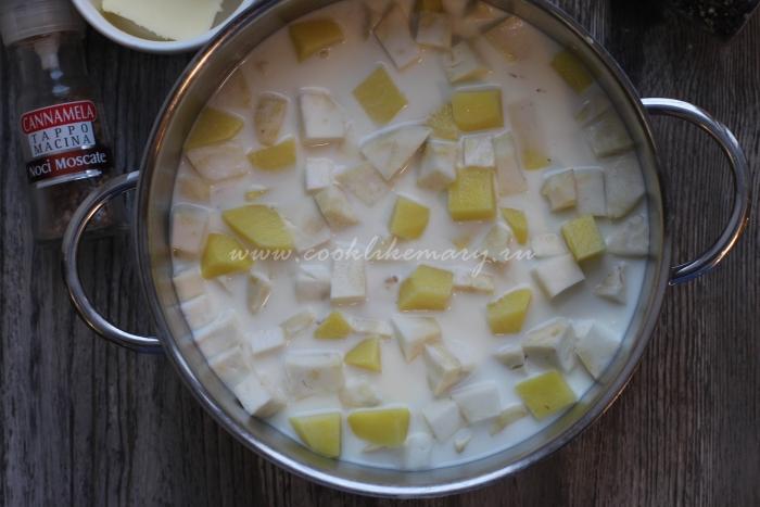 Пюре из сельдерея и картофеля