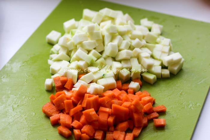 Как нарезать овощи для ухи