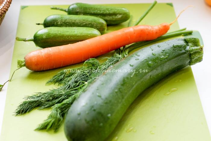 Овощи для ухи