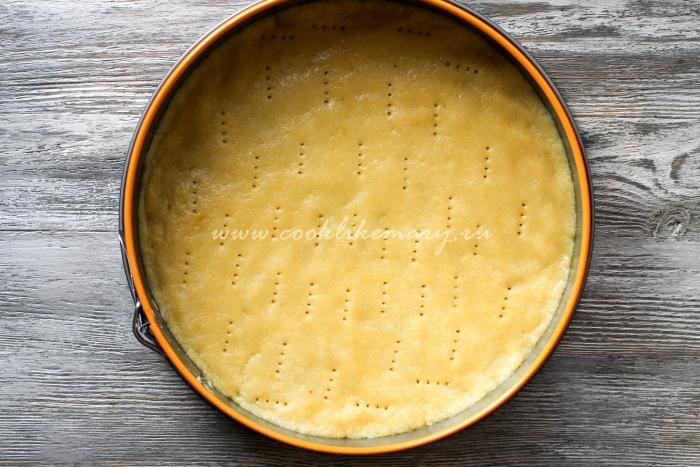 Песочное тесто для чизкейка