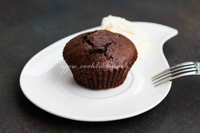 Рецепт шоколадного фондана в домашних условиях