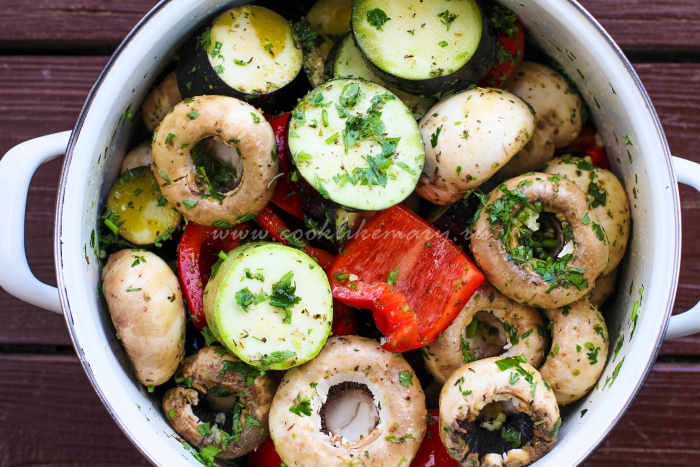 Овощи со специями