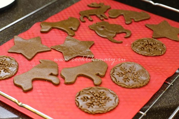 Рецепт имбирного печенья в духовке