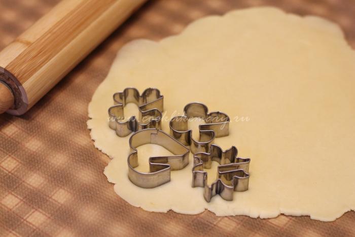 Простое домашнее печенье на сливочном масле