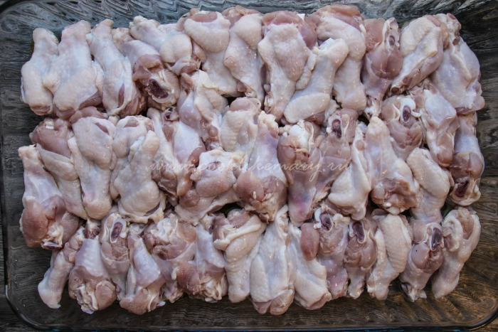 Простой рецепт куриных крыльев