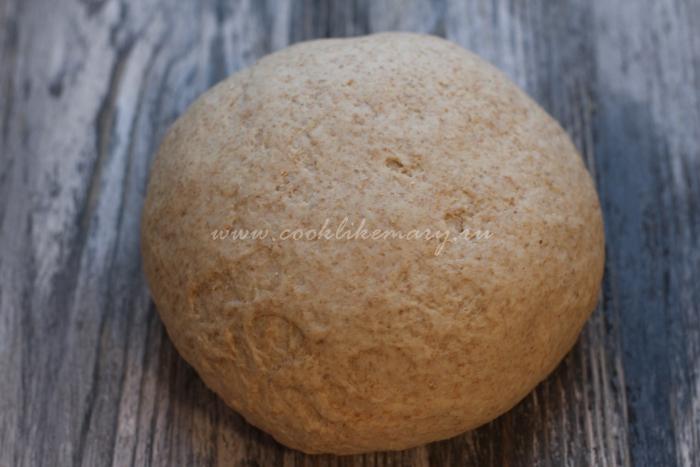 Полезное тесто для пельменей из цельнозерновой муки
