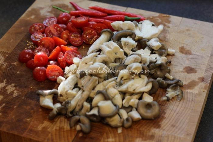 Овощи для Tom Yum Kung
