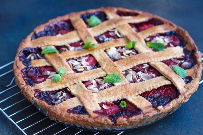 Сладкий ягодный пирог