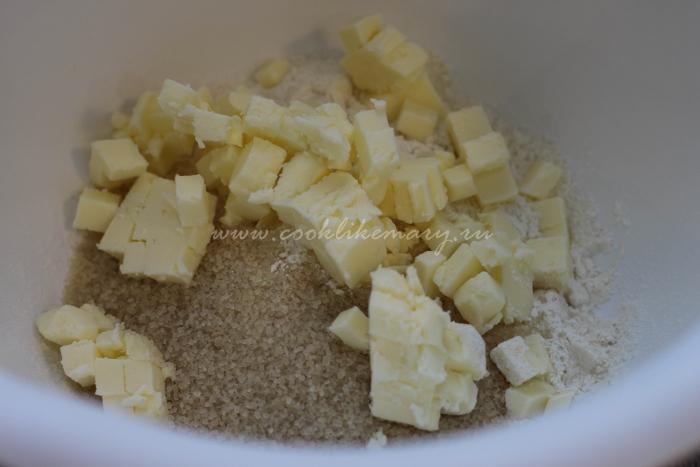 Способ приготовления песочного теста