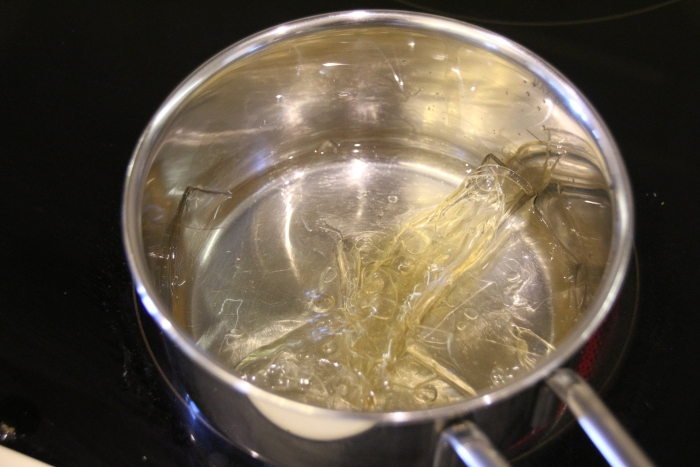 как разогреть желатин