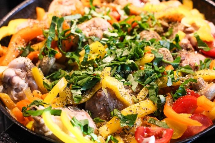 Рецепт курицы по-итальянски