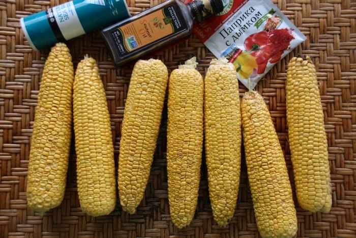 Рецепт приготовления кукурузы