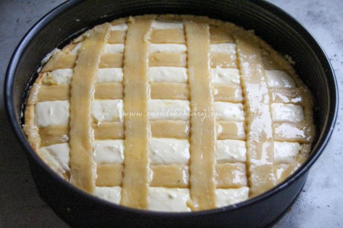 Творожный тарт до запекания
