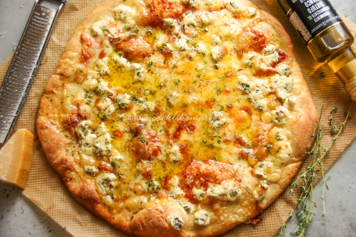 Пицца 4 сыра как в Италии