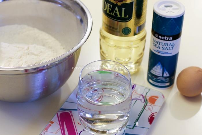 Ингредиенты для сочных мант