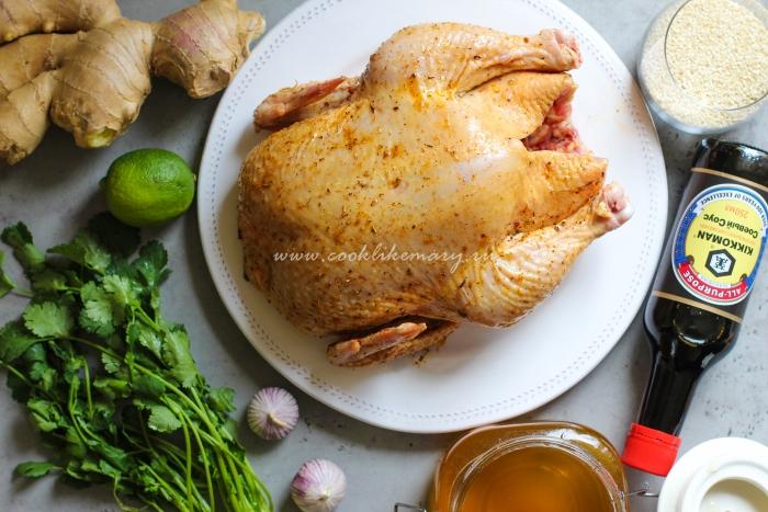 Простой маринад для курицы