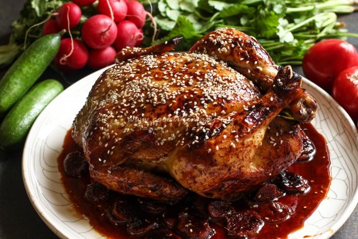 Самая сочная курица в духовке