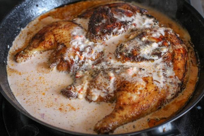 Цыплёнок в соусе
