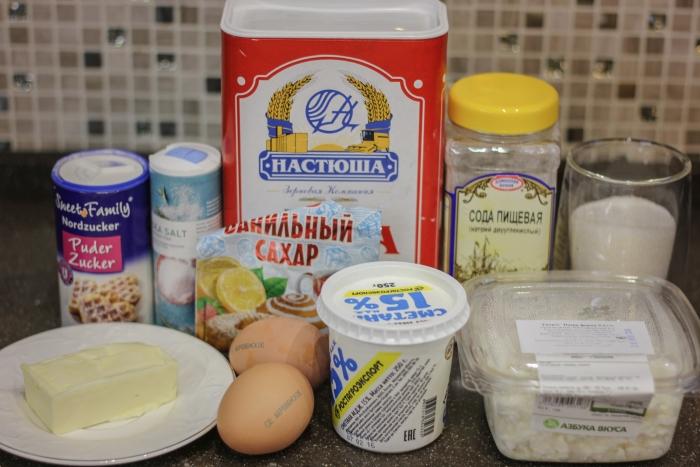Ингредиенты для сочников