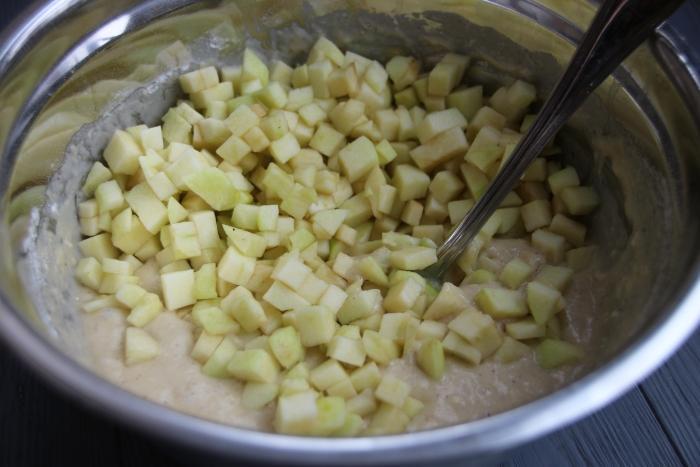 Добавьте яблоки