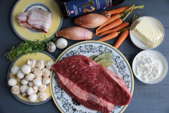 продукты для беф бургиньон