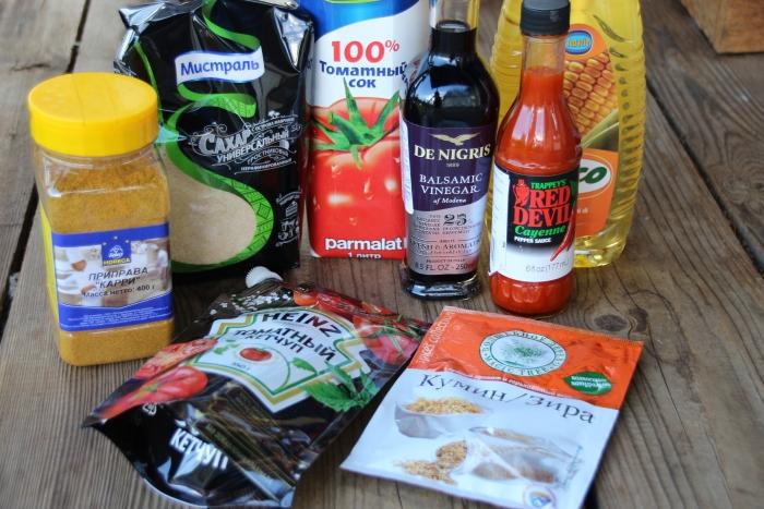 ингредиенты для барбекю