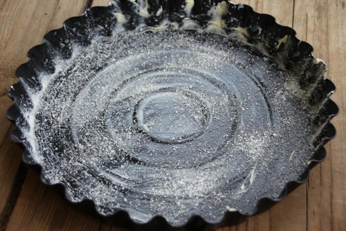 Подготовьте форму для пирога