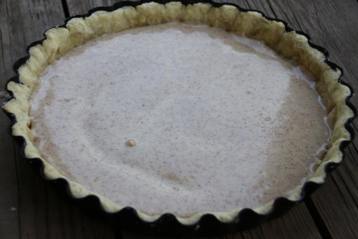 Миндальный крем для пирога