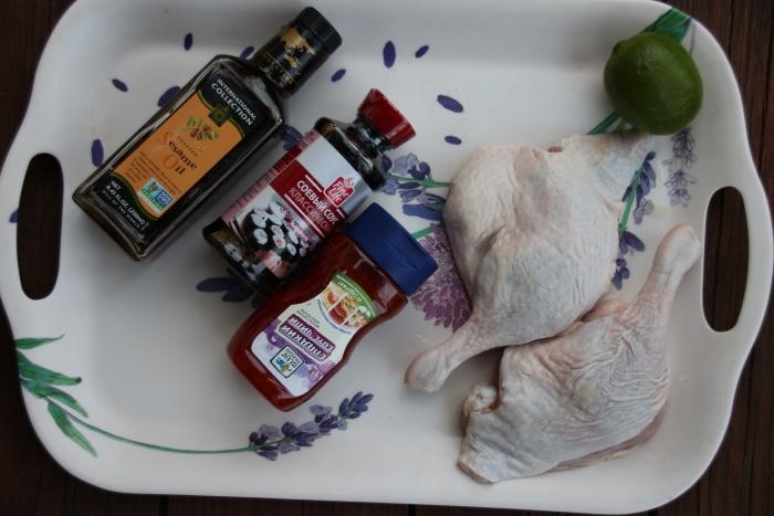 Ингредиенты для маринада для утиных ножек