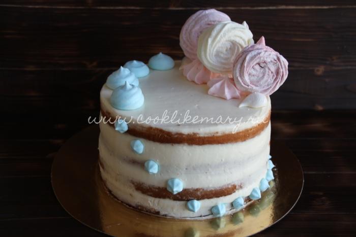 Торт бисквит королевы Виктории