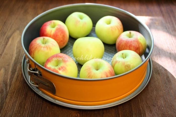 Оргинальный рецепт пирога с яблоками